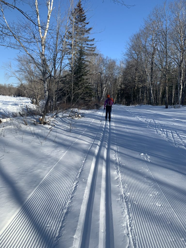 XC Skiing at PRT